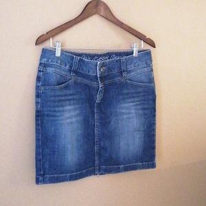 Esprit Casual denim mini skirt